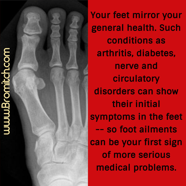 Feet Mirror General Health