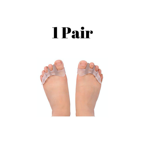 1 Pair Of Gel Toe Separators For Men & Women