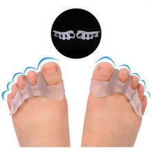 Load image into Gallery viewer, 2 Pairs Of Gel Toe Separators For Men & Women