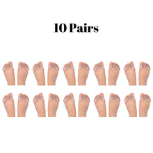 Load image into Gallery viewer, Bulk Wholesale 10 Pairs of Gel Toe Separators For Men & Women