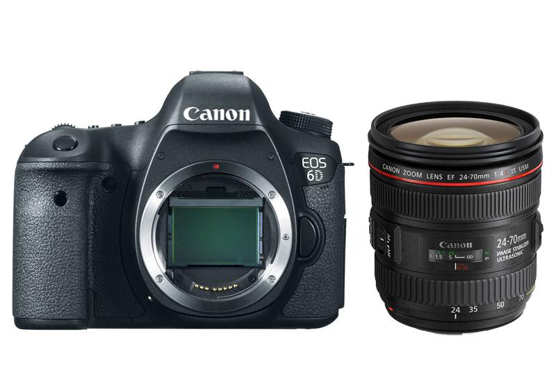 Canon EOS 6D with 24-70mm f/4 L IS USM Kit