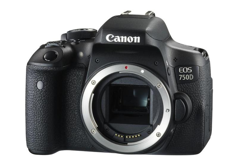 Canon EOS 750D DSLR Body (Rebel T6i)
