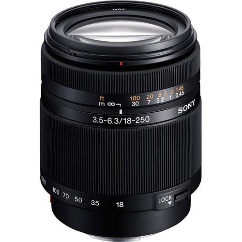 Sony DT 18-250mm f/3.5-6.3 High Magnification Zoom Lens