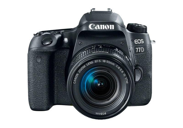 Canon EOS 77D with EF-S 18-55mm f/4-5.6 IS STM Lens Kit