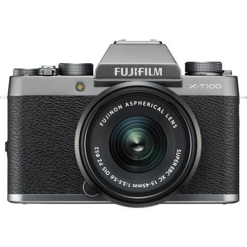 Fujifilm X-T100 With 15-45mm Lens