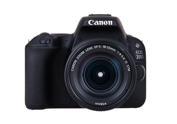 Canon EOS 200D with EF-S 18-55mm f/4-5.6 IS STM Lens Kit