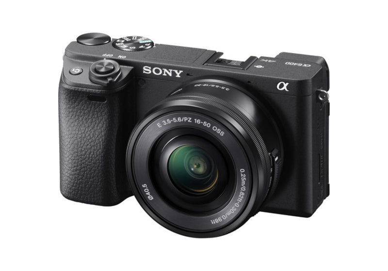 Sony A6400 with 16-50mm F3.5-5.6 Lens (SELP1650) kit