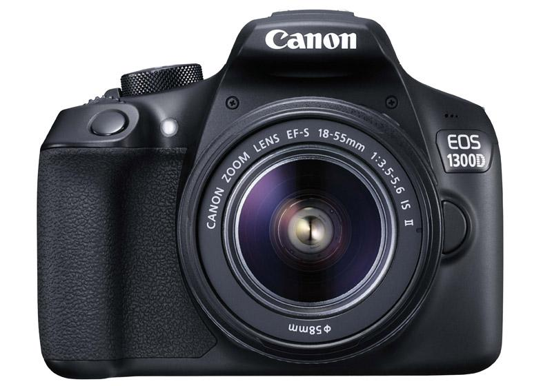 Canon EOS 1300D with 18-55mm f/3.5-5.6 IS II Lens Kit