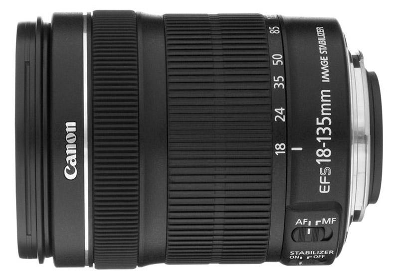 Canon EF-S 18-135mm f/3.5-5.6 IS STM (White Box)