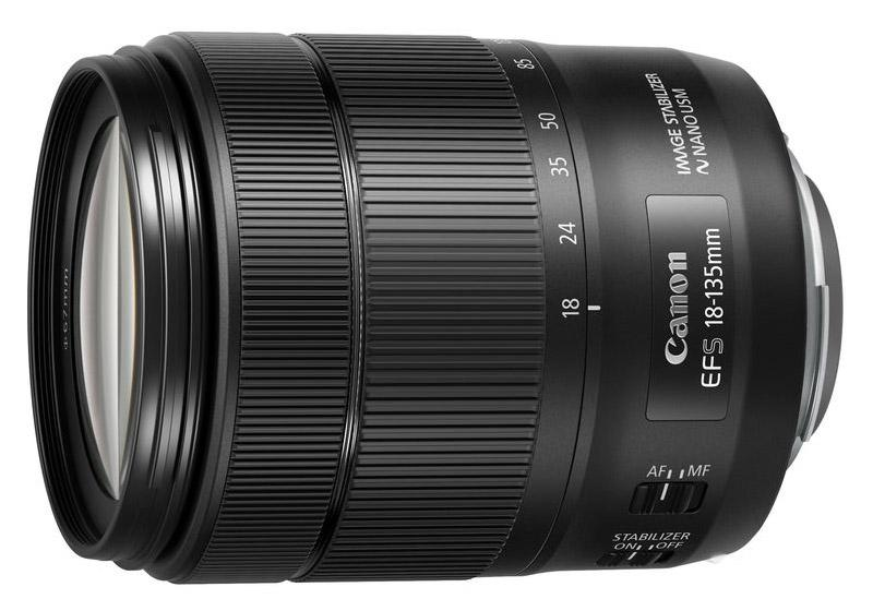 Canon EF-S 18-135mm f/3.5-5.6 IS USM (white box)