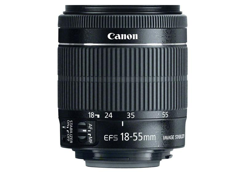 Canon EF-S 18-55mm f/3.5-5.6 IS STM (white box)