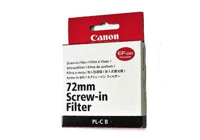 Canon 72mm Circular Polarising Filter