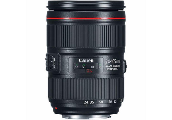 Canon EF 24-105mm f/4.0 L IS USM II Lens (White Box)