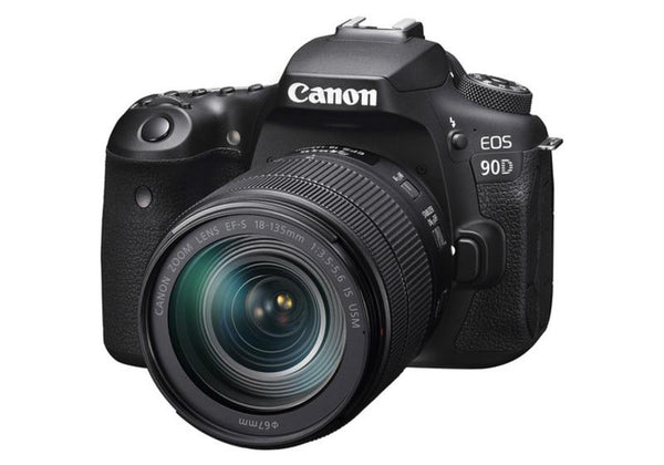 Canon EOS 90D Camera with 18-135mm Lens Kit