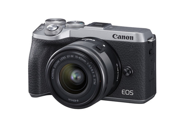 Canon EOS M6 II with EF-M 15-45mm f/3.5-6.3 IS STM
