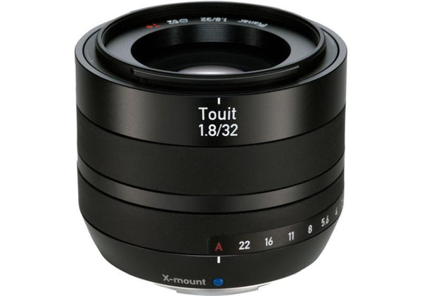 Carl Zeiss Touit 32mm f/1.8 Lens For Fujifilm X