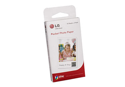 LG Pocket Zink Photo Paper (30 Sheets)
