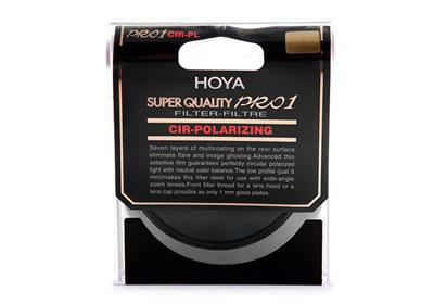 Hoya 58mm SUPER PRO1 PL-CIR FILTER