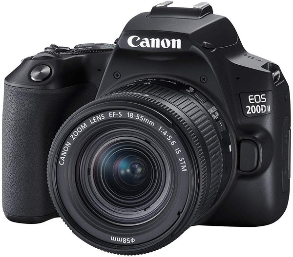 Canon EOS 200D II with EF-S 18-55mm f/4-5.6 IS STM Lens Kit