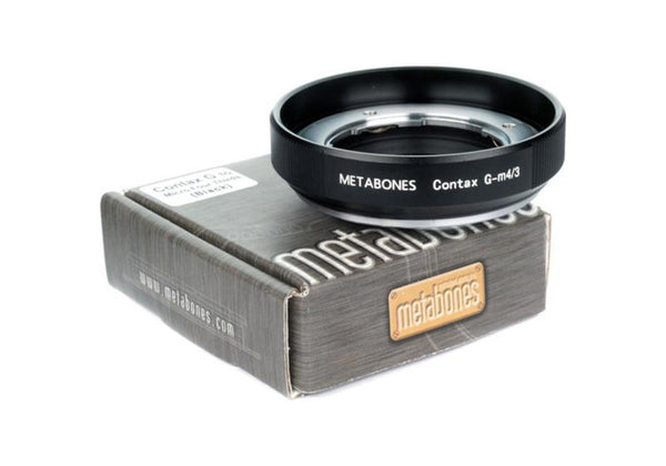 Metabones Contax G to M4/3 Adapter (Black Matt)
