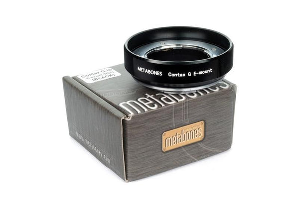 Metabones Contax G to E-mount Adapter (Black Matt)