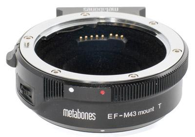 Metabones Canon EF to Micro Four Thirds T Smart Adapter (Black Matt)