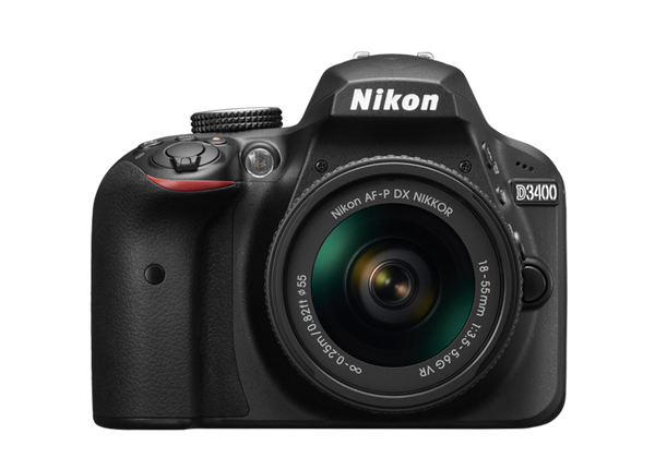 Nikon D3400 DSLR Digital Camera Body