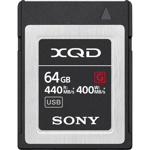 Sony 64GB G Series XQD Memory Card