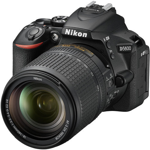 Nikon D5600 DSLR Camera with 18-140mm Lens