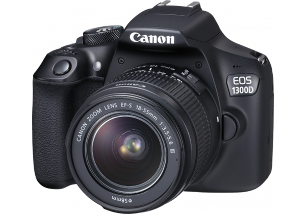 Canon EOS 1300D with 18-55mm f/3.5-5.6 III Lens Kit