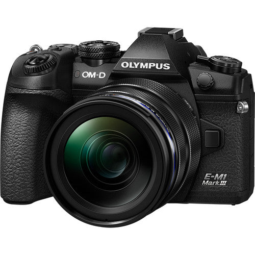 Olympus OM-D E-M1 Mark III with 12-40mm Lens Kit