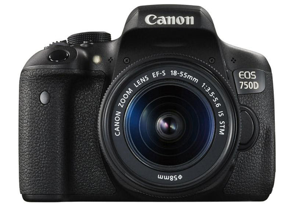 Canon EOS 750D with EF-S 18-55mm f/3.5-5.6 IS STM Lens Kit