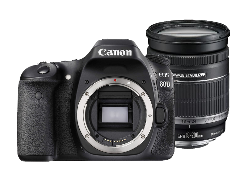 Canon EOS 80D with 18-200mm IS Kit