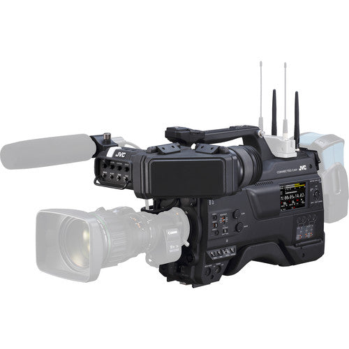 "JVC GY-HC900CHU 2/3"" HD Connected Camcorder with EVF & Wireless LAN"