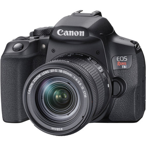 Canon EOS 850D Camera with 18-55mm Lens Kit (Rebel T8i)