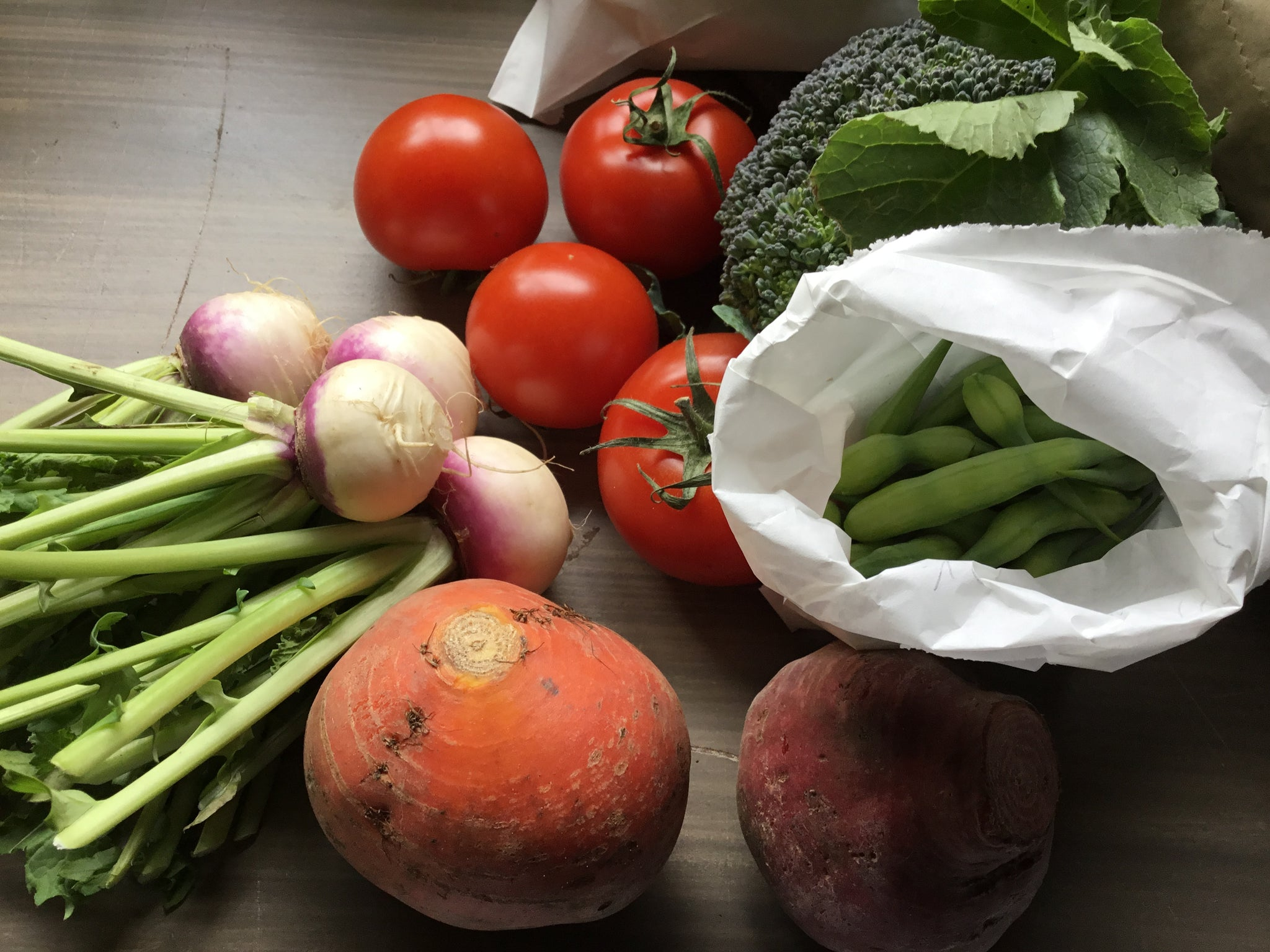 What does a box from Locavore look like?