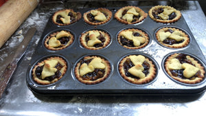 Fruit mince pies and summer tarts... YUM