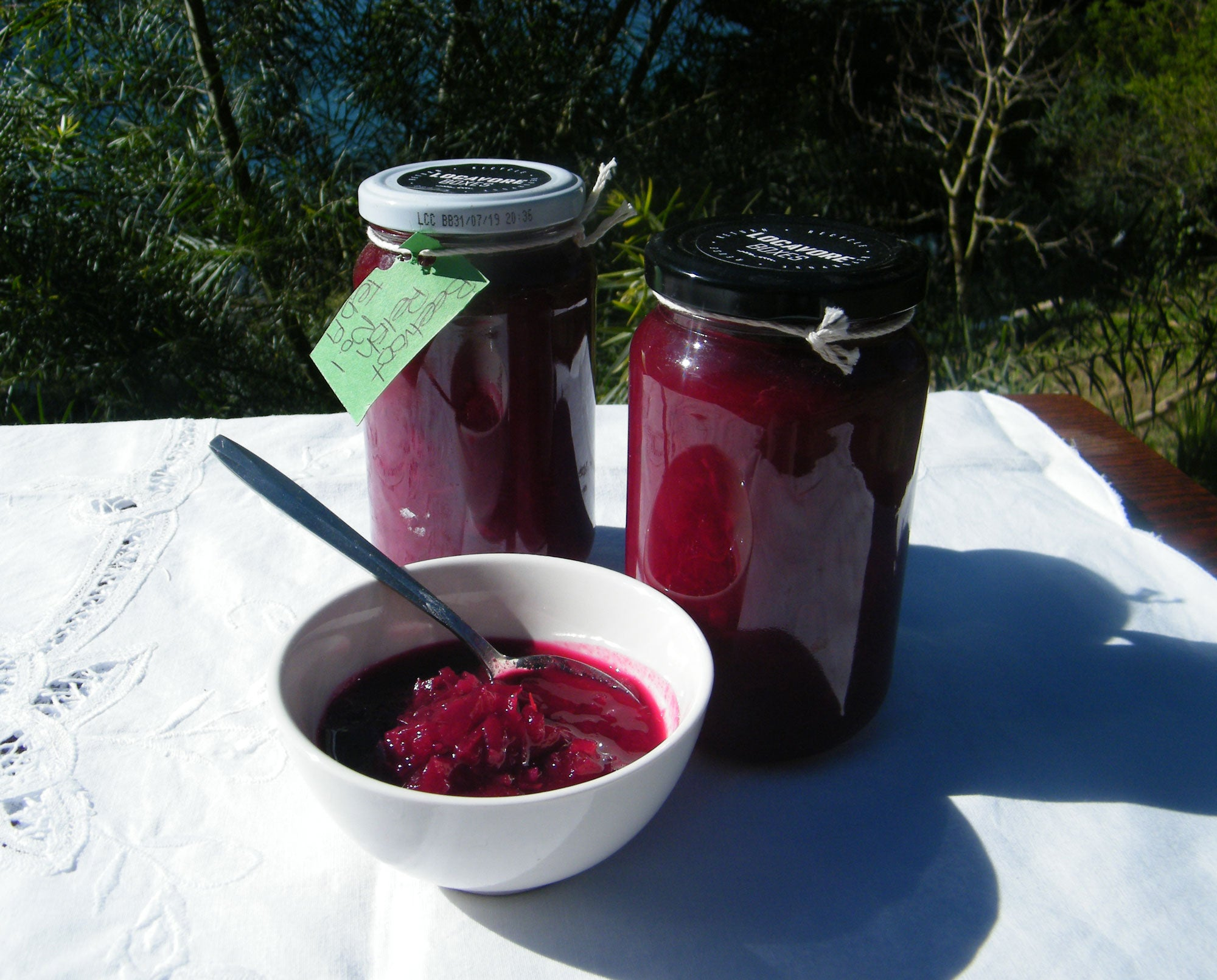 Preserves and Relishes