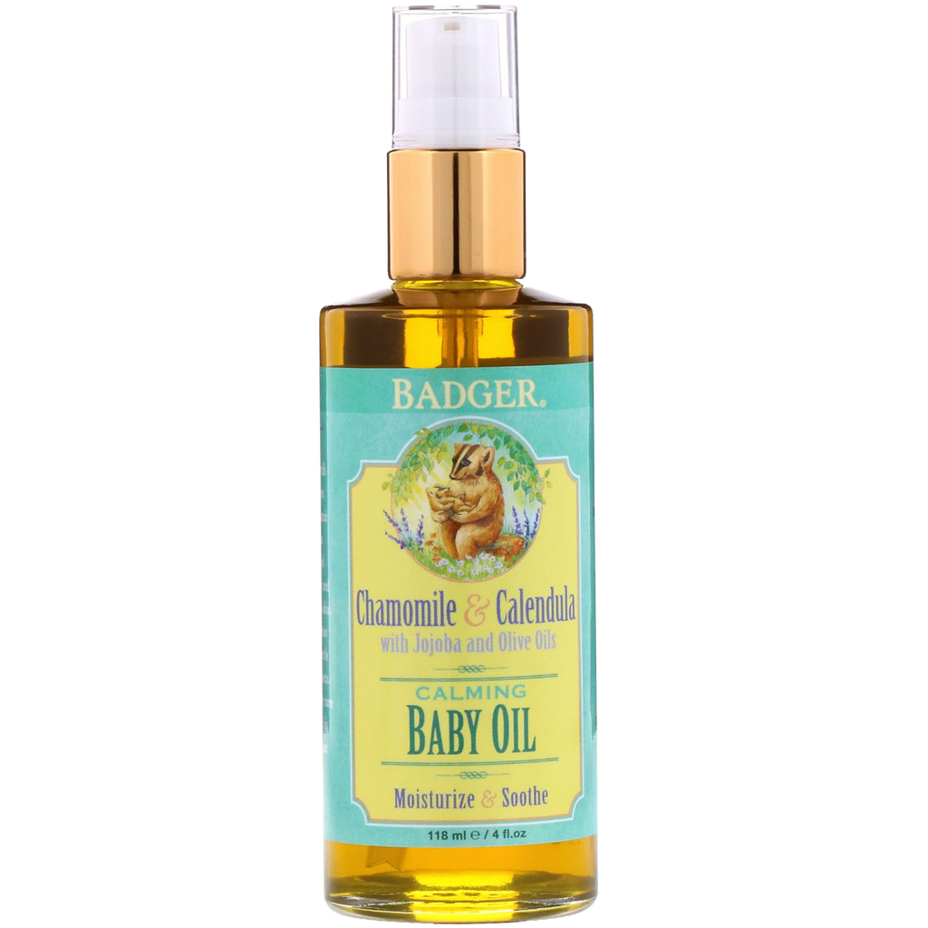 Badger Baby Oil - Bebek Yağı 118ml - Mamakido