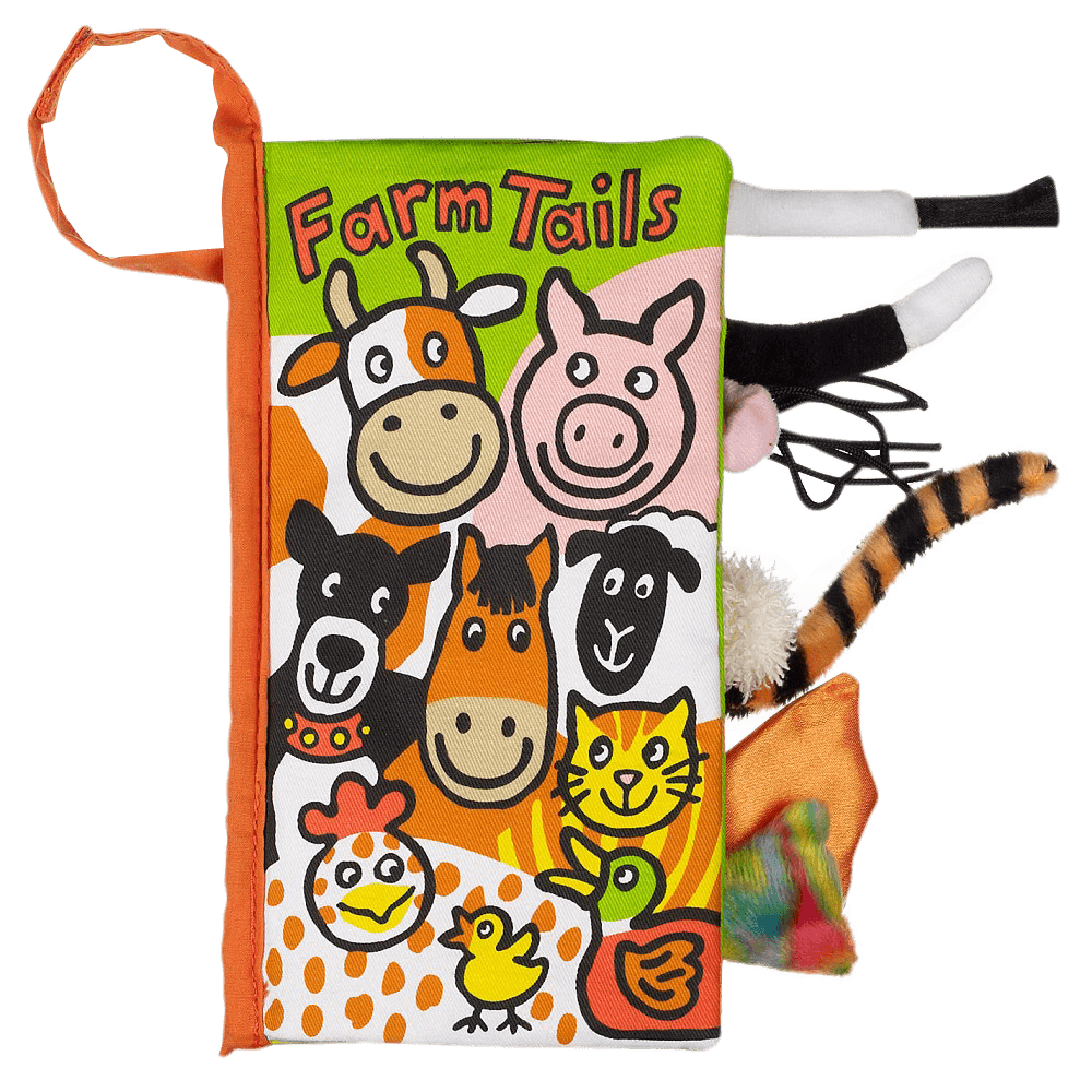 Jellycat Bez Kitap - Farm Tails Book - Mamakido