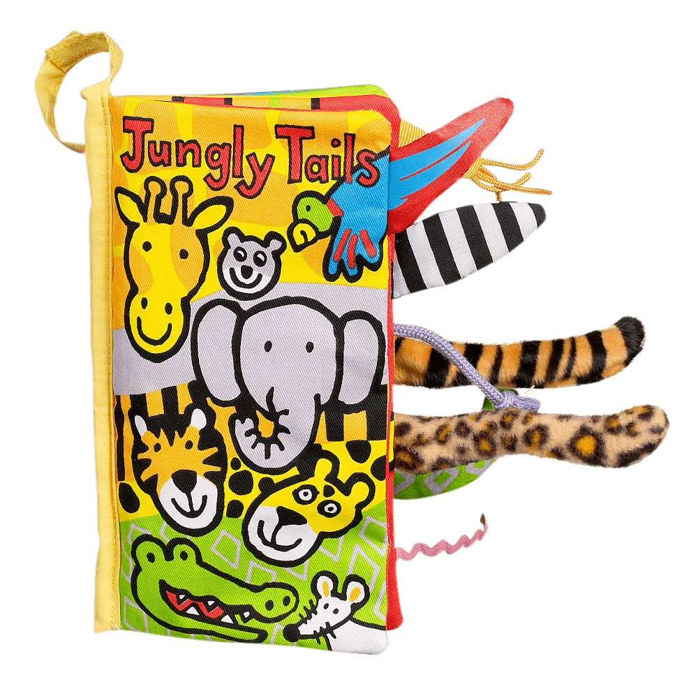 Jellycat Bez Kitap - Jungly Tails Book - Mamakido