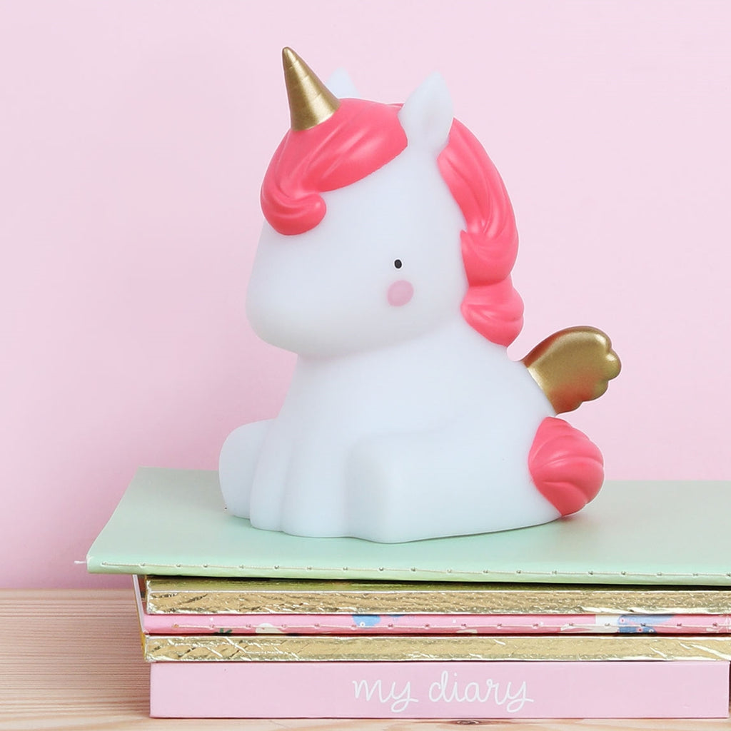 A Little Lovely Company - Mini Unicorn Lamba Altın - Mamakido
