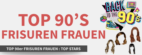 TOP 90er Frisuren Frauen
