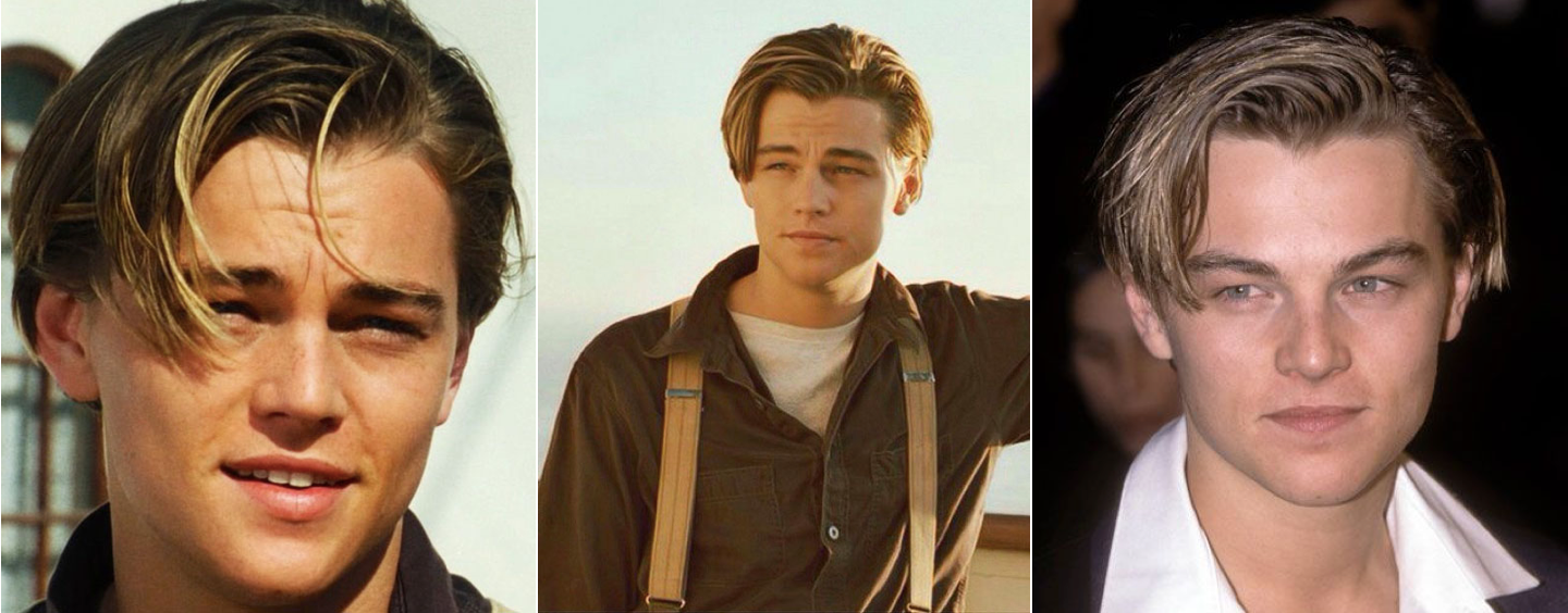 DiCaprio 90s haircut