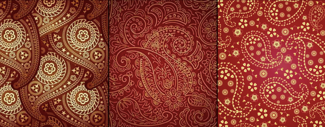 Paisley Muster
