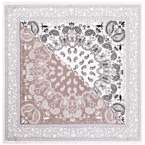 cream Bandana Tücher
