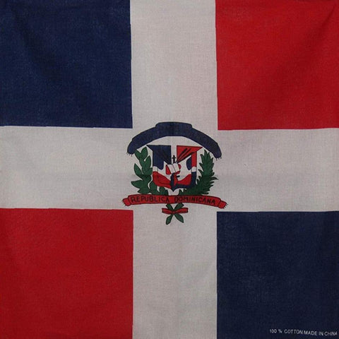 Dominican Flag Bandana