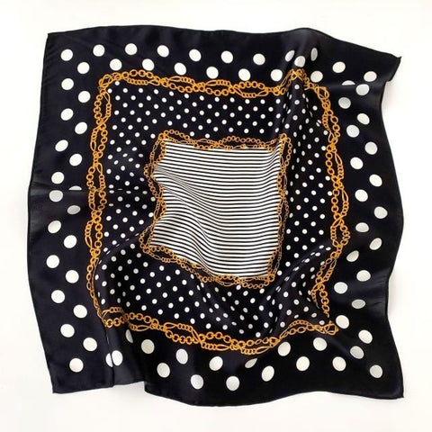 Nickituch Midnight Polka Dot | King Bandana