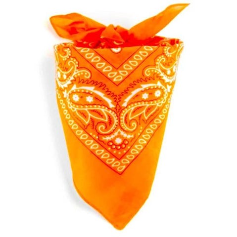 Orange Bandana | King Bandana
