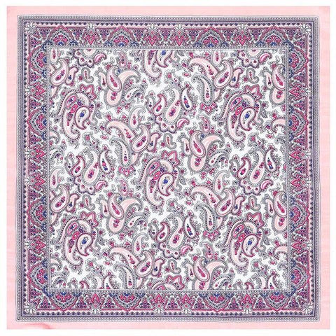 Pink Paisley Tuch